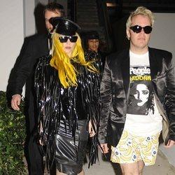 Lady Gaga y Pérez Hilton en Miami