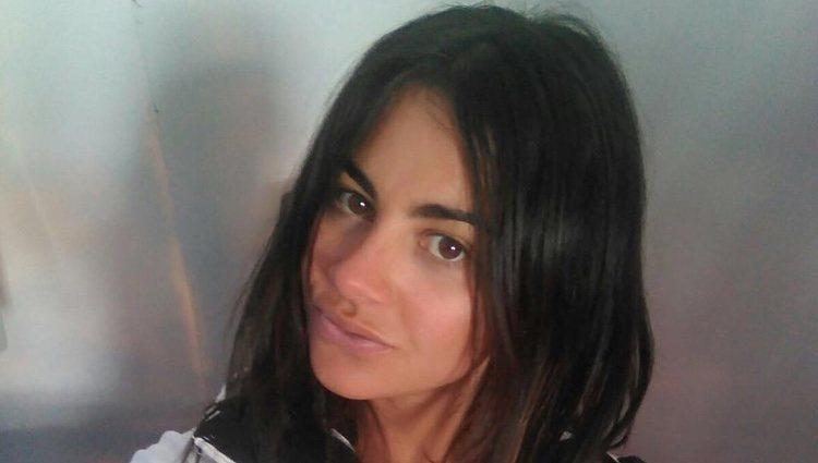 Wirla Gonzalez-Espresati, de vacaciones en la nieve