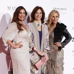 Pilar García, Ana Rosa Quintana y Anastacia en la fiesta de Global Gift de Madrid de 2018