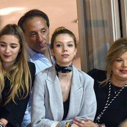 Alejandra Rubio con su padre Alejandro Rubio y su madre Terelu Campos