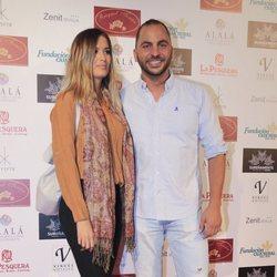 Antonio Tejado y su novia en un acto en Sevilla