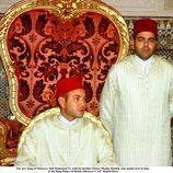 El Rey Mohamed VI el día de su proclamación