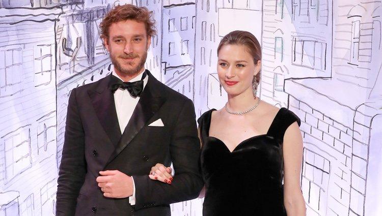 Pierre Casiraghi y Beatrice Borromeo en el Baile de la Rosa 2018
