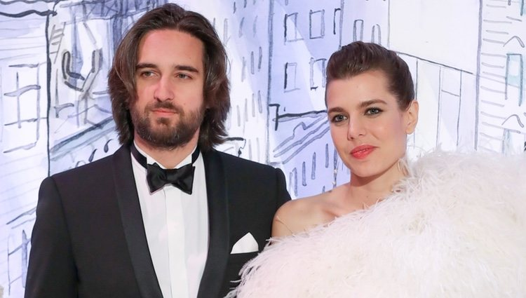 Carlota Casiraghi y Dimitri Rassam en el Baile de la Rosa 2018