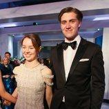 Alexandra de Hannover y Ben-Sylvester Strautmann en el Baile de la Rosa 2018
