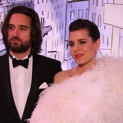 Carlota Casiraghi junto a Dimitri Rassam en el Baile de la Rosa 2018