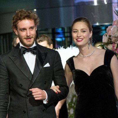 Pierre Casiraghi y su mujer, Beatrice Borromeo, en el Baile de la Rosa 2018