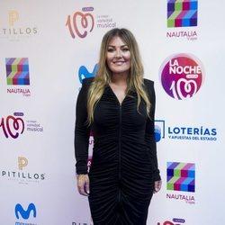 Amaia Montero en el photocall de La Noche de Cadena 100