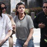 Selena Gomez en la marcha multitudinaria contra las armas en EEUU