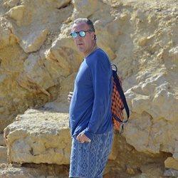 Jaime de Marichalar, de vacaciones en Ibiza en 2017