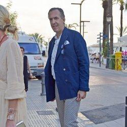 Jaime de Marichalar en un evento en 2017 en Ibiza