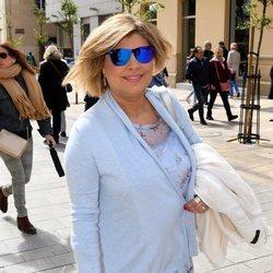 Terelu Campos en la Semana Santa de Málaga 2018