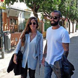 Anabel Pantoja y Omar Sánchez en la Semana Santa de Sevilla 2018