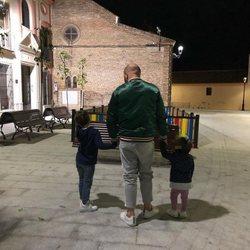 Kiko Rivera en la Semana Santa 2018 junto a sus hijos Francisco y Carlota