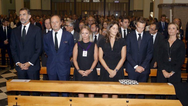 El Rey Felipe VI en el funeral del XIX Duque de Medinaceli