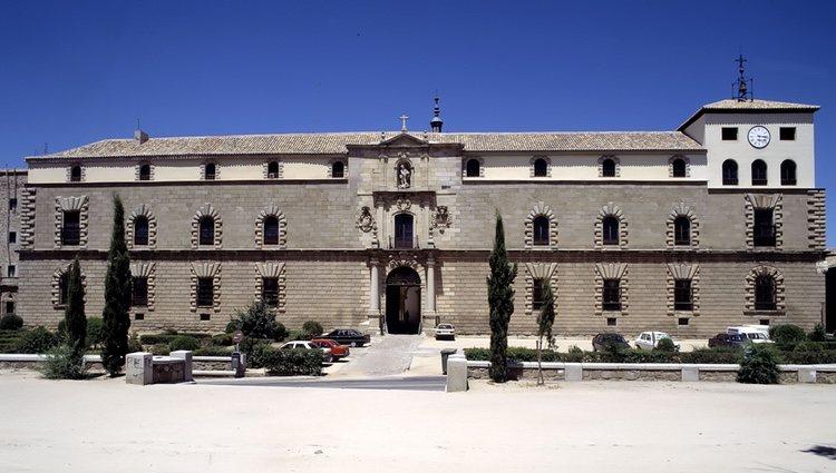 El Hospital de San Juan Bautista (también llamado Hospital de Tavera) en Toledo