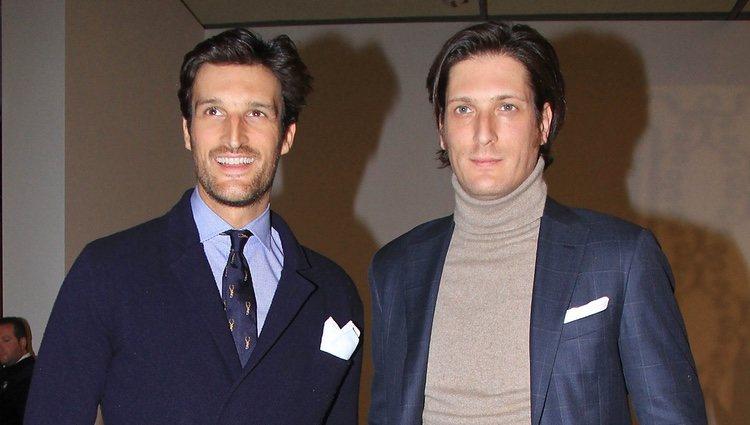 Los hermanos Rafa Medina y Luis Medina