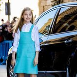 La Infanta Sofía en la Misa de Pascua 2018