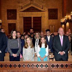 La Familia Real en la Misa de Pascua 2018
