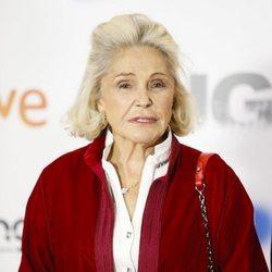 Beatriz de Orleans en la premier de la serie 'Fugitiva'