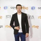 Raúl Mérida en la premier de la serie 'Fugitiva'