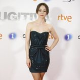 Elena Rivera en la premier de la serie 'Fugitiva'