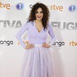 Cristina Rodríguez en la premier de la serie 'Fugitiva'