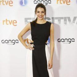 Ana Guerra en la premier de la serie 'Fugitiva'
