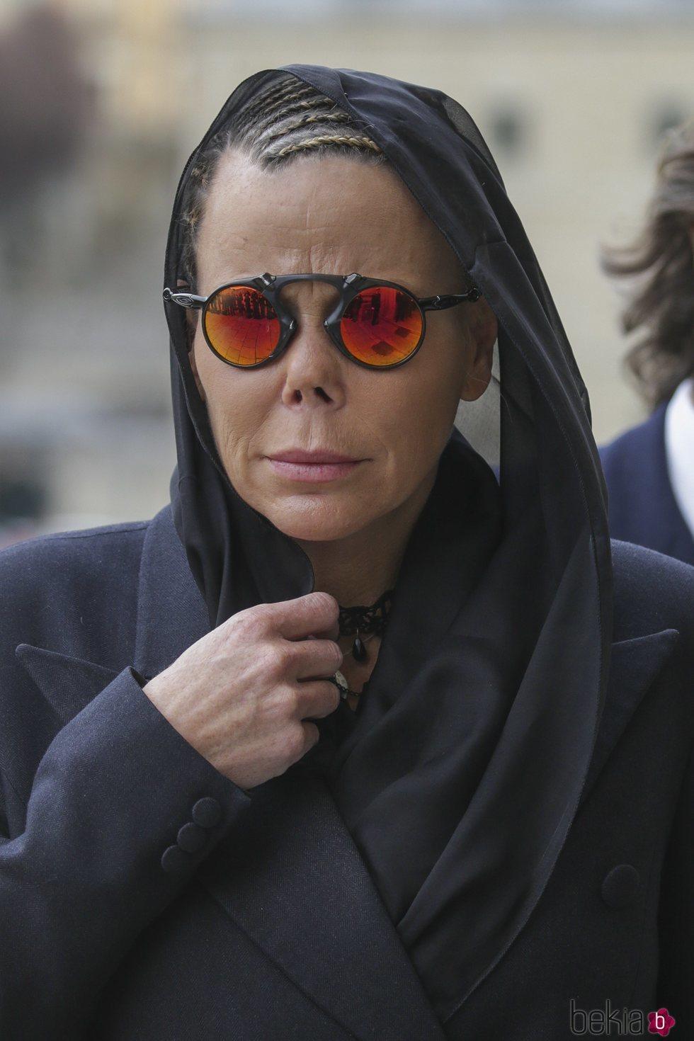 Kalina de Bulgaria en la misa por el 25 aniversario de la muerte del Conde de Barcelona