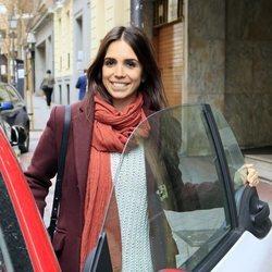 Elena Furiase muy feliz tras acudir a una revisión ginecológica