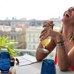 Elena Tablada disfruta de su viaje en La Habana