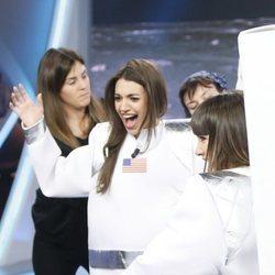 Ana Guerra vestida de astronauta en 'El Hormiguero'