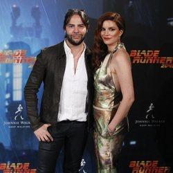 Joaquín Cortés y Mónica Moreno en la premier de 'Blade Runner 2049'