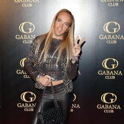 Aless Gibaja en el cumpleaños de Alejandra Rubio