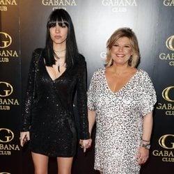 Alejandra Rubio junto a su madre Terelu Campos en su fiesta de cumpleaños