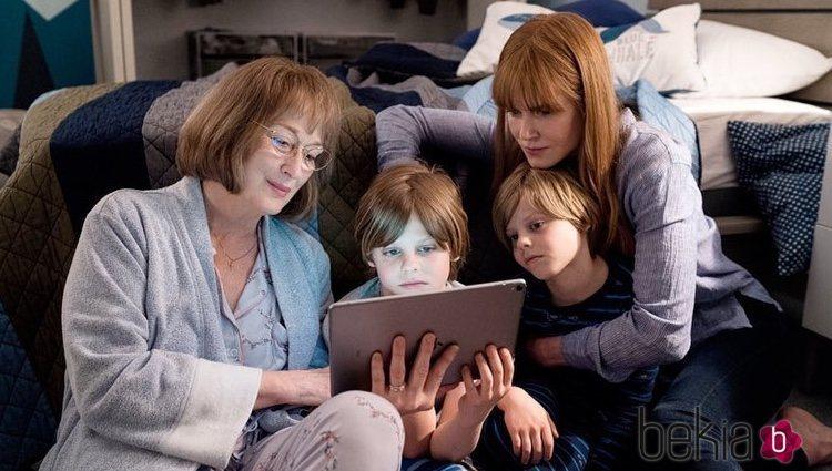 Primera imagen de Meryl Streep y Nicole Kidman en el rodaje de la segunda temporada de 'Big Little Lies'