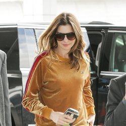 Anne Hathaway en chandal por Nueva York