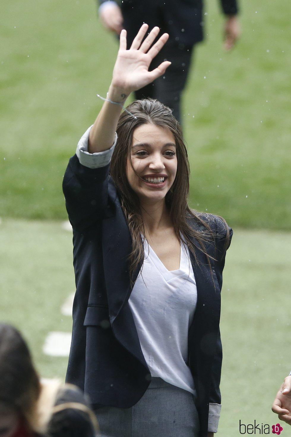 Ana Guerra en el Estadio Santiago Bernabéu