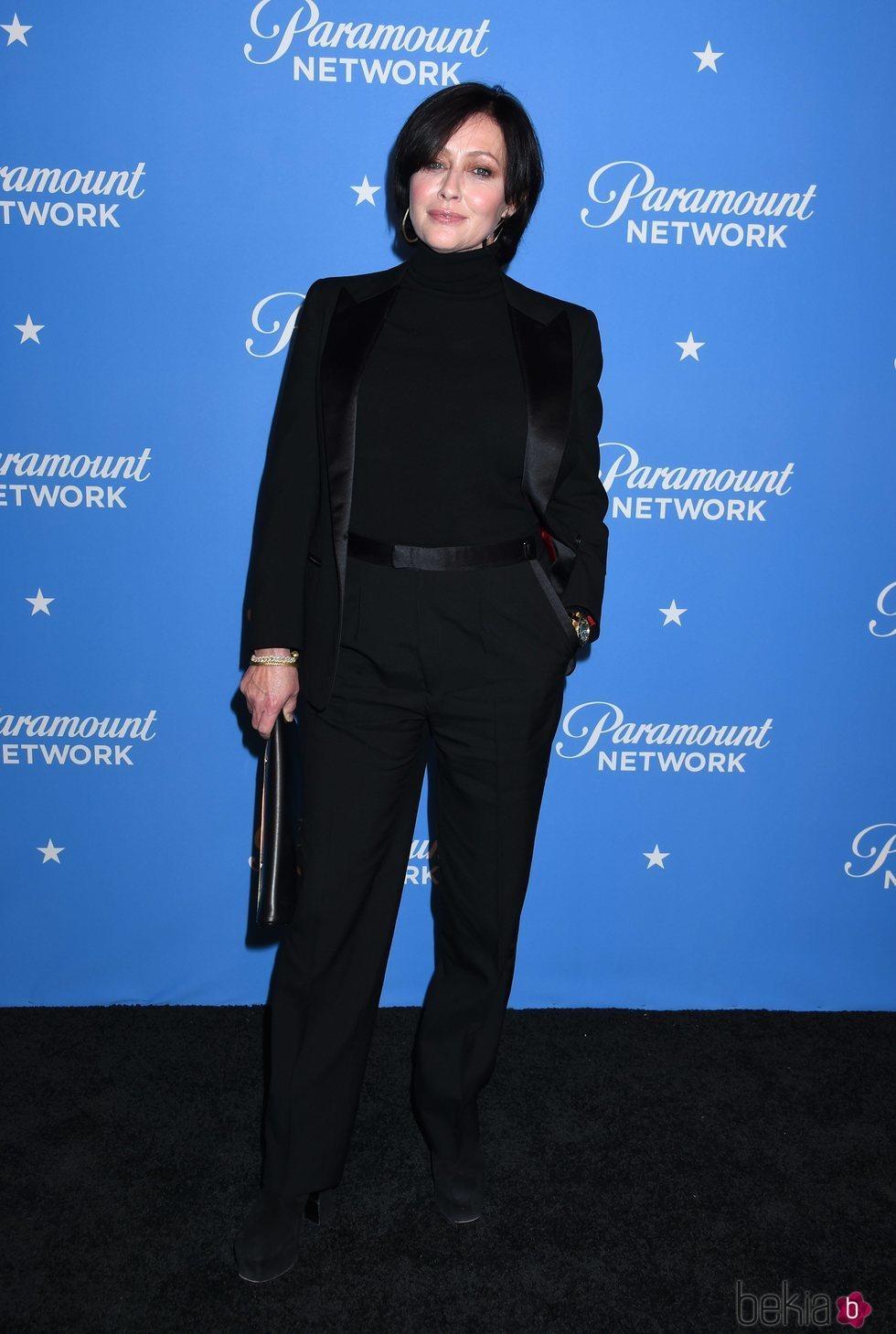 La actriz Shannen Doherty en la fiesta de lanzamiento de Paramount Network