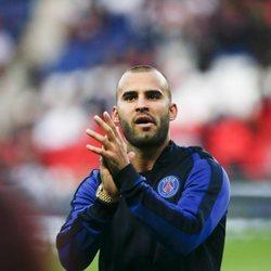 Jesé Rodríguez en un partido con el Paris Saint Germain