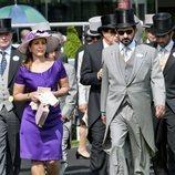 El Emir de Dubai y Haya de Jordania en 2011