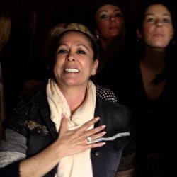 Isabel Pantoja, emocionada con la actuación de su hijo Kiko Rivera