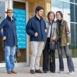 La Reina Sofía, la Infanta Elena, Froilán y Victoria Federica tras visitar al Rey Juan Carlos en el