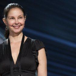 Ashley Judd durante un ensayo de la gala de los Oscar 2018
