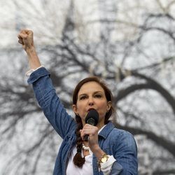 Ashley Judd en la Marcha por las Mujeres en Washington