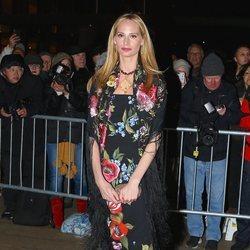 Lauren Santo Domingo en un desfile de Dolce & Gabbana en Nueva York