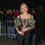 Diane Kruger en un desfile de Dolce & Gabbana en Nueva York