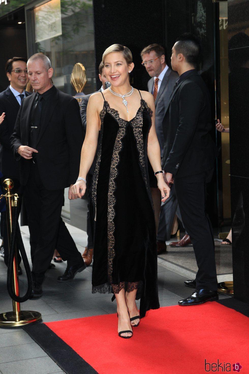 Kate Hudson en Hong Kong, China