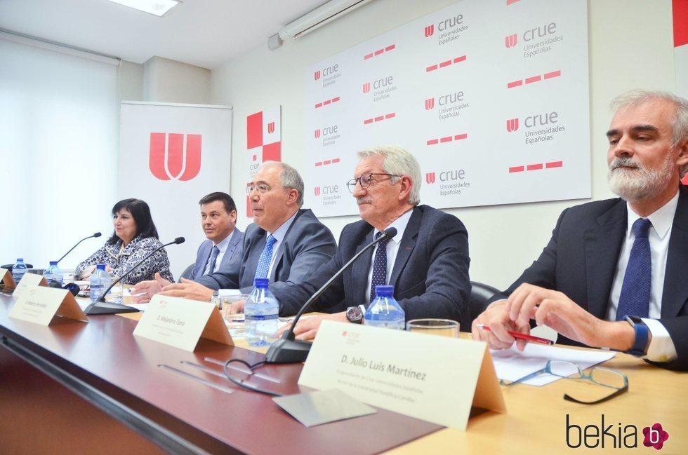 El presidente de los rectores de las Universidades Españolas