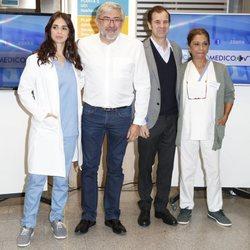 Elena Furiase y Lolita Flores en su presentación para formar parte del elenco de personajes de 'Centro Médico'